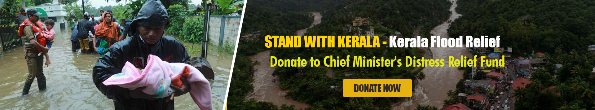 Donate to Chief Minister's Distress Relief Fund